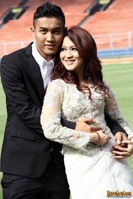 Pre-wedding dengan konsep Sepakbola