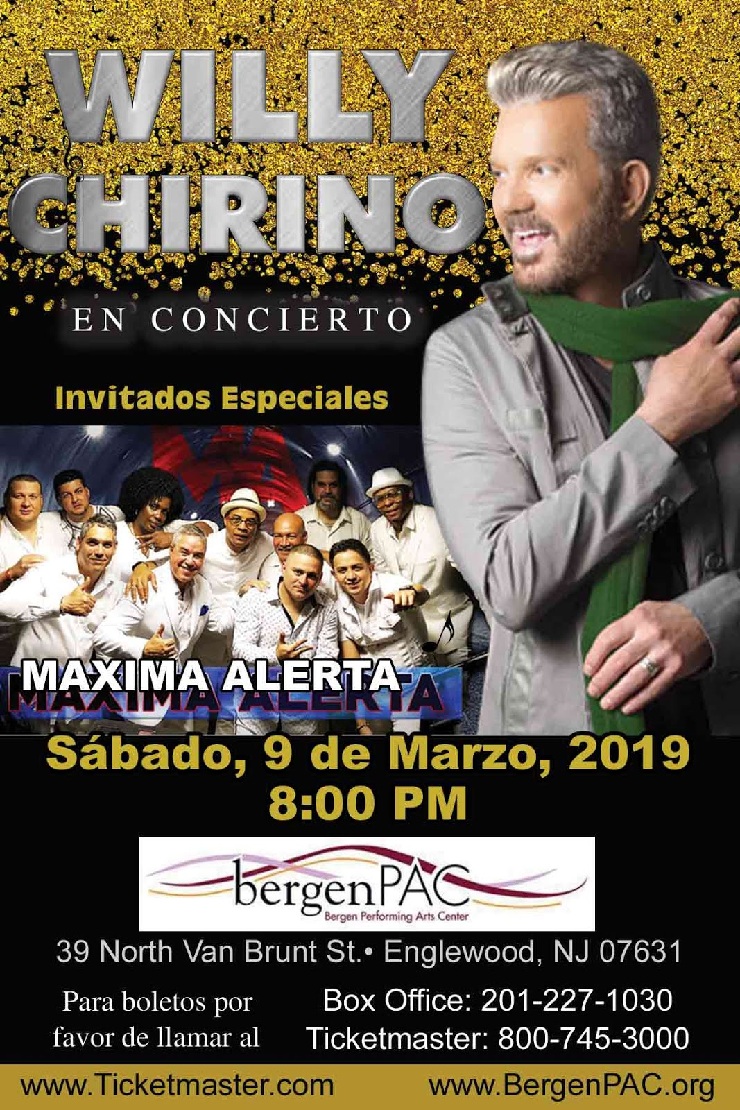 Willy Chirino @ bergenPAC