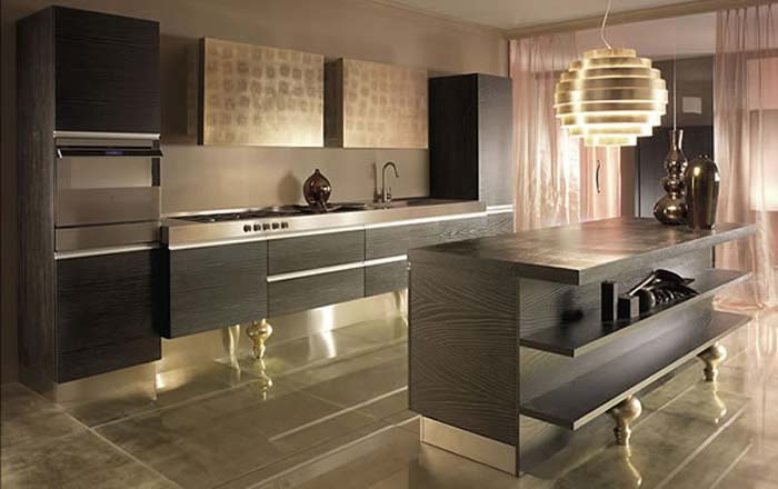Modern kitchen design ideas sink cabinet by must italia for Modern kitchen plan