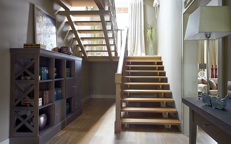 straight stairs design