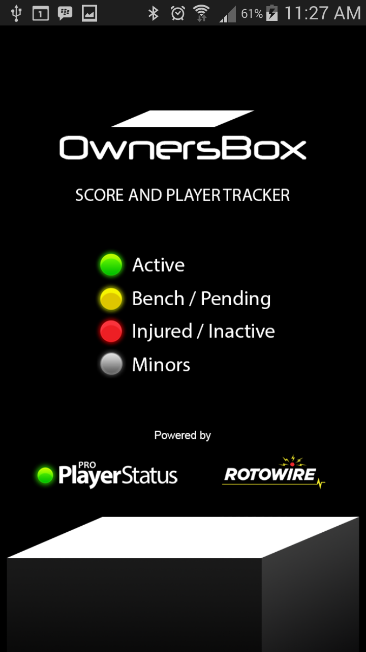 OwnersBox Splash Screen