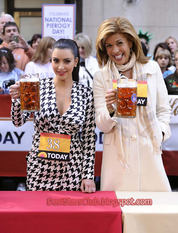 Kim Kardashian On The Today Show Photos