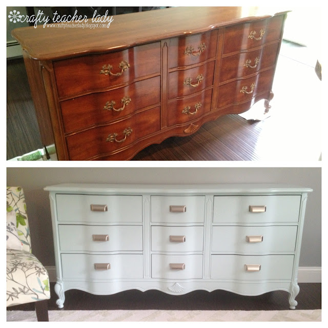 Thriftstore Dresser Makeover Tutorial