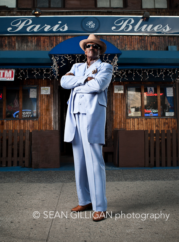MG 1868 Edit Edit Edit Mr. Blues! Samuel Hargress Jr. is the owner of Paris Blues bar in Harlem, New York.