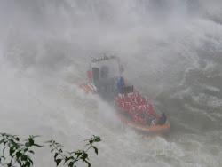Sightseeing Boat, Iguazu Falls, Argentinian side