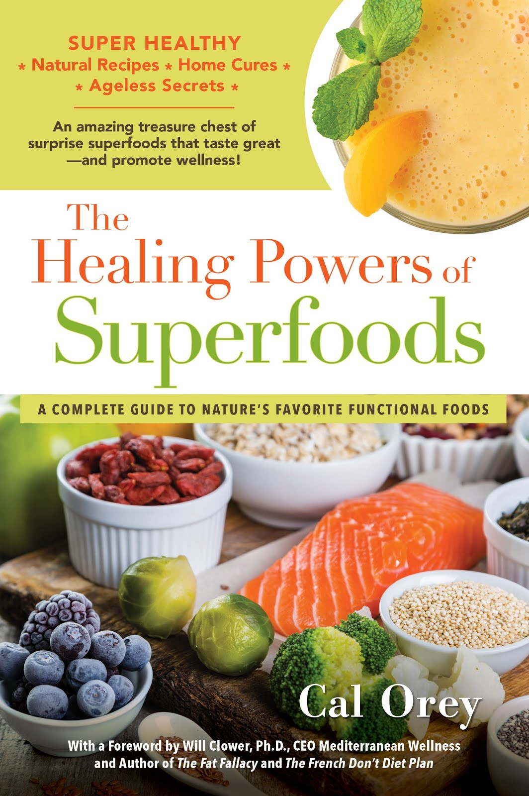 Superfoods Book (32 color photos)