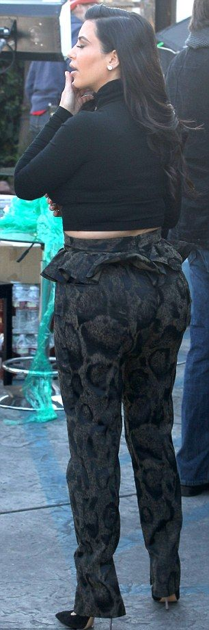 Kim Khardashian Pregnancy Fashion Fail