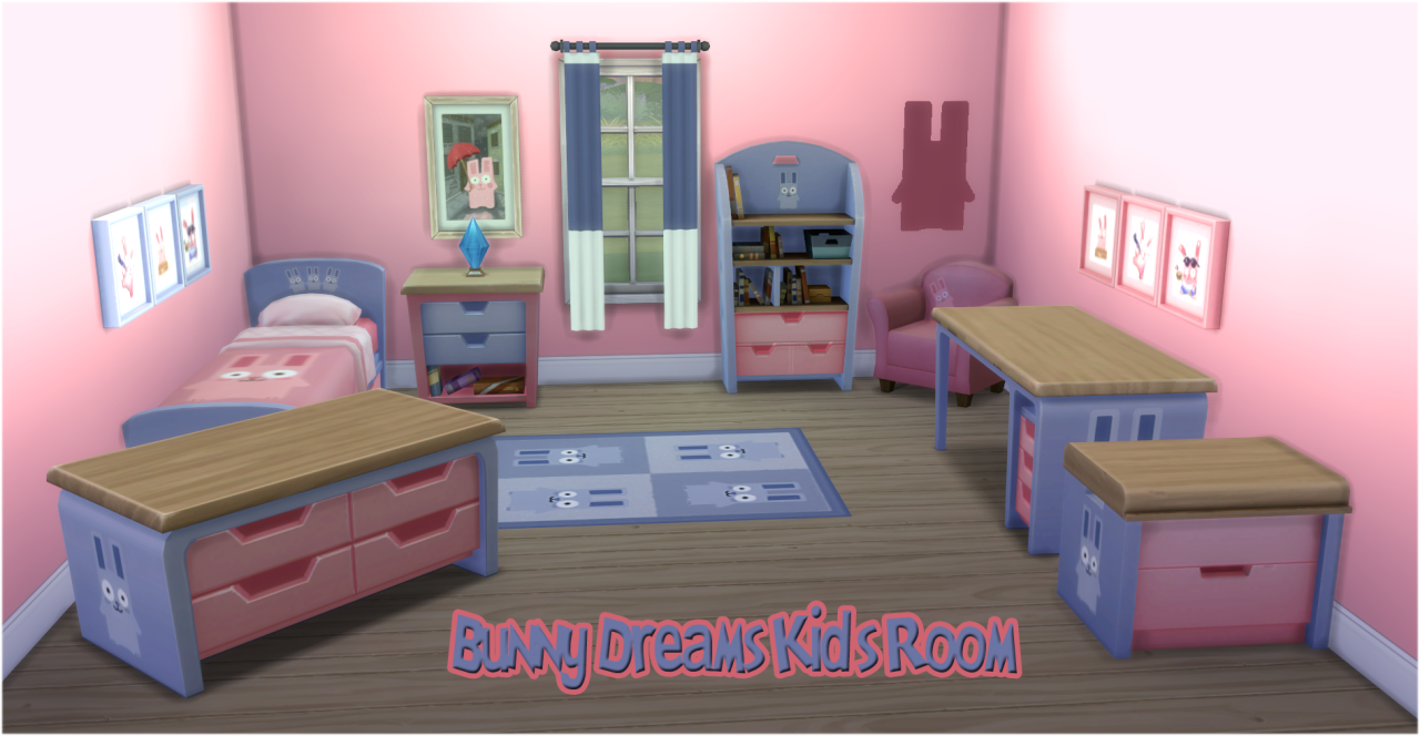 Kids Bedroom 2014 my sims 4 blog: kid's bedroom recolorsjorghahaq