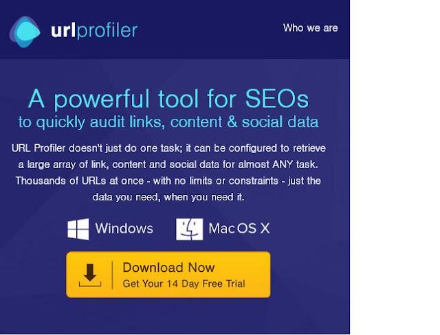 URL Profiler SEO Tools for Link Audit