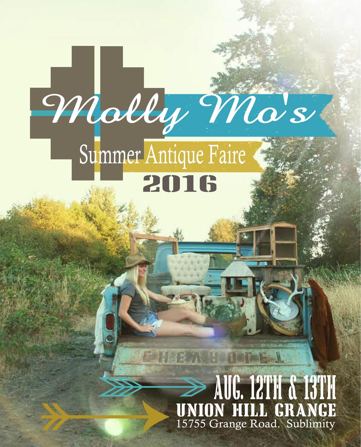 Molly Mo's 2016 Antique Faire