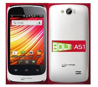 Micromax Bolt A51 price in India image