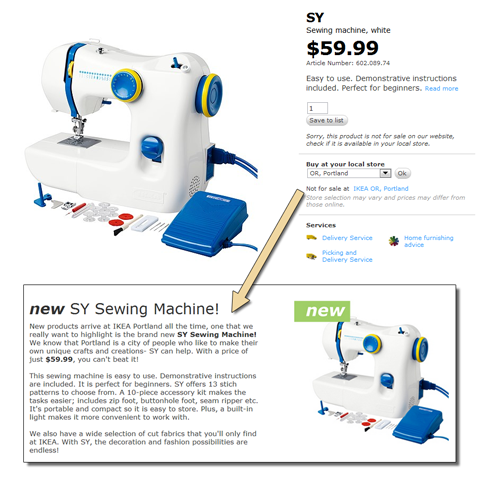 A Dog's Life In Portland Oregon IKEA Sewing Machine Delectable How To Use Ikea Sewing Machine