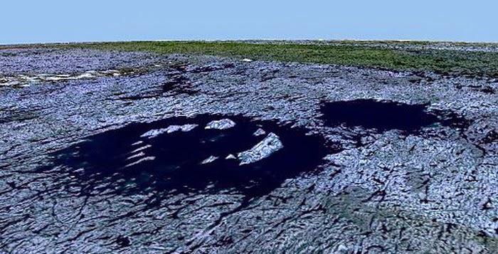 Kawah-Kawah Raksasa di Bumi Akibat Tabrakan Benda Luar Angkasa