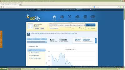 Cara mendapatkan uang dari Adf.ly