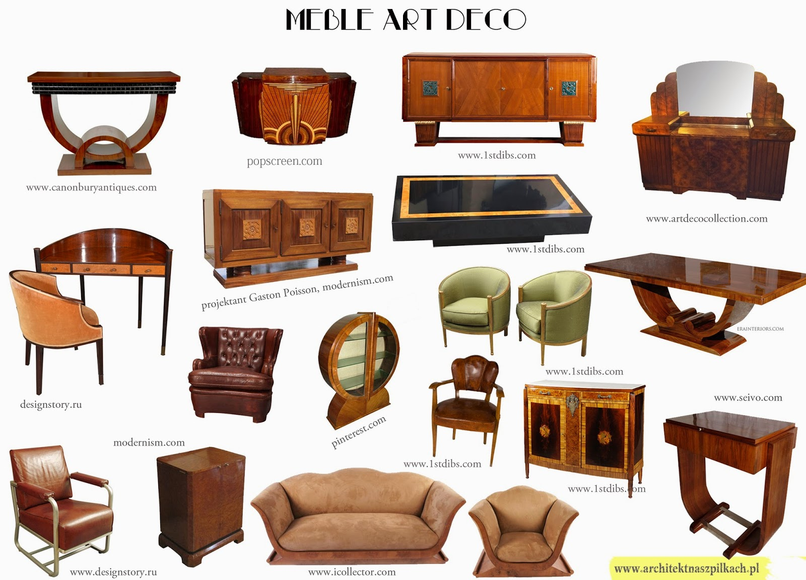 Meble art deco