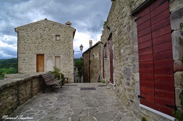 Roccascalegna, centro storico