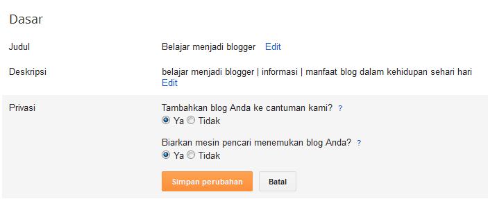 cara belajar blog
