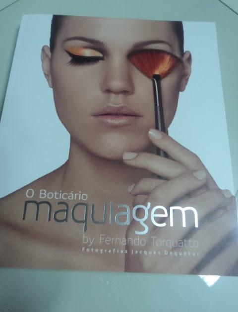 Livro de maquiagem - O Boticário by Fernanda Torquatto