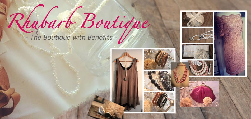 Rhubarb Boutique - The boutique with Benefits