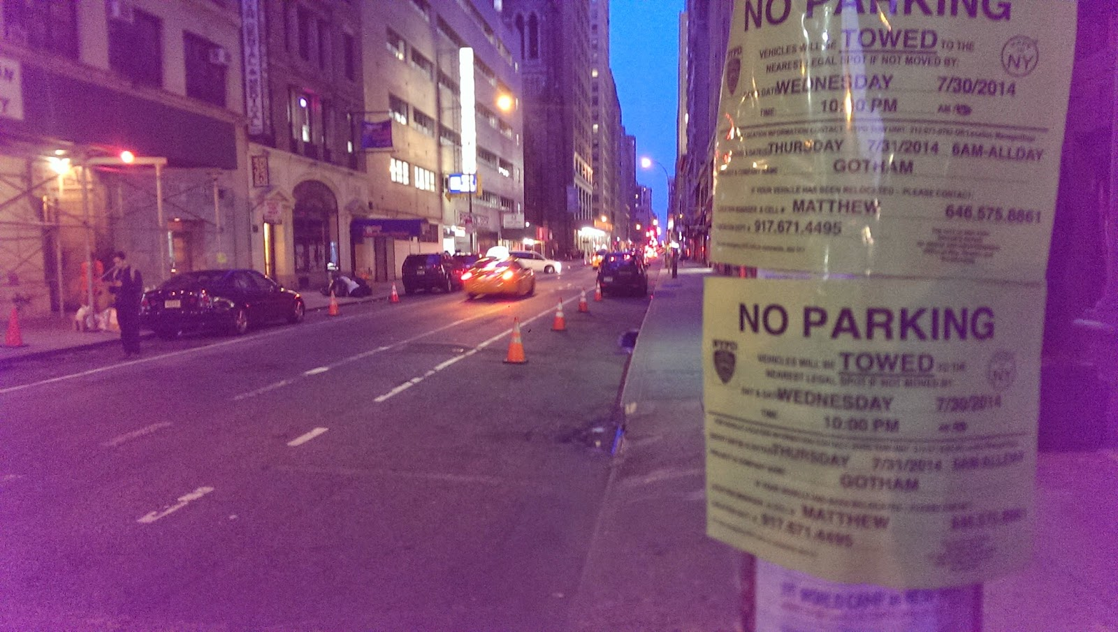 Film location of Gotham TV series