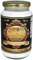 Giveaway: 32 Ounce Jar of Gold Label Coconut Oil from Tropical Traditions (Ends 03/09)