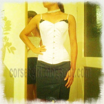 tight over-bust corset