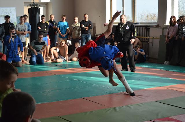 открытый чемпионат по боевому самбо в Херсоне