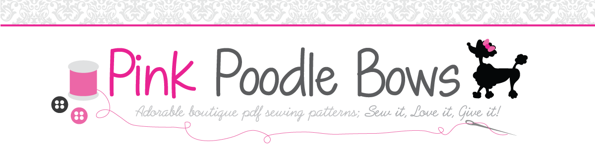 PDF Sewing Patterns for girls dresses and clothing by Pink Poodle Bows
