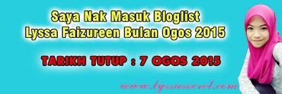 http://www.lyssasecret.com/2015/08/bloglist-ogos-2015-saya-nak-masuk.html#.Vbzh_rVq3N5