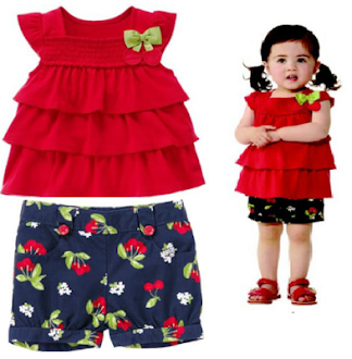 Clearance Stock : RM33 - Set 2pcs Brand Cikicoko Kids