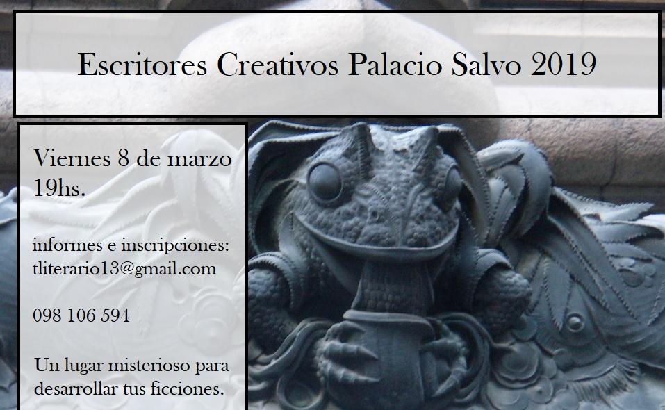 Taller literario Palacio Salvo 2019