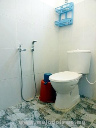 bilik air, homestay murah kelantan