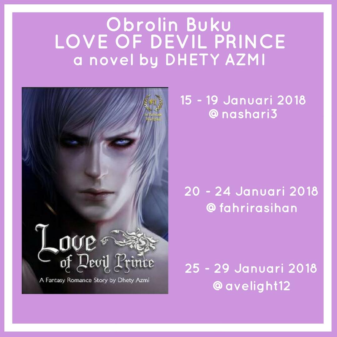 Obrolin Buku Love of Devil Prince