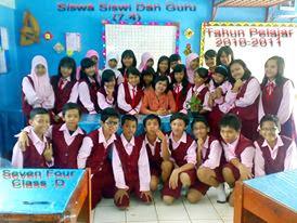 my lovely class 7.4 ( memorise )
