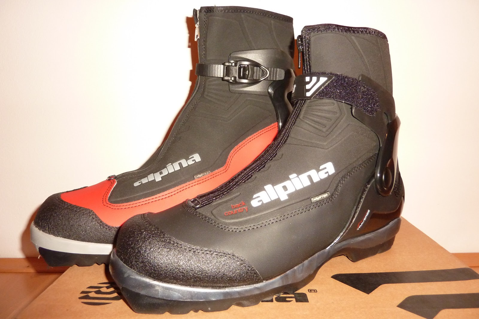 Sunny Side of the Alps: Alpina BC 2250 vs.Traverse nordic ...