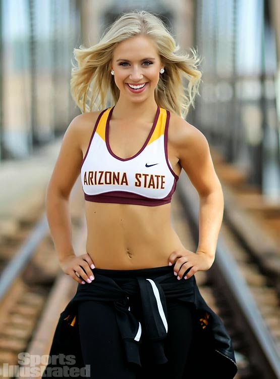 Cheer Heaven: Sports Illustrated Hits it Out of the Park with Arizona ...
