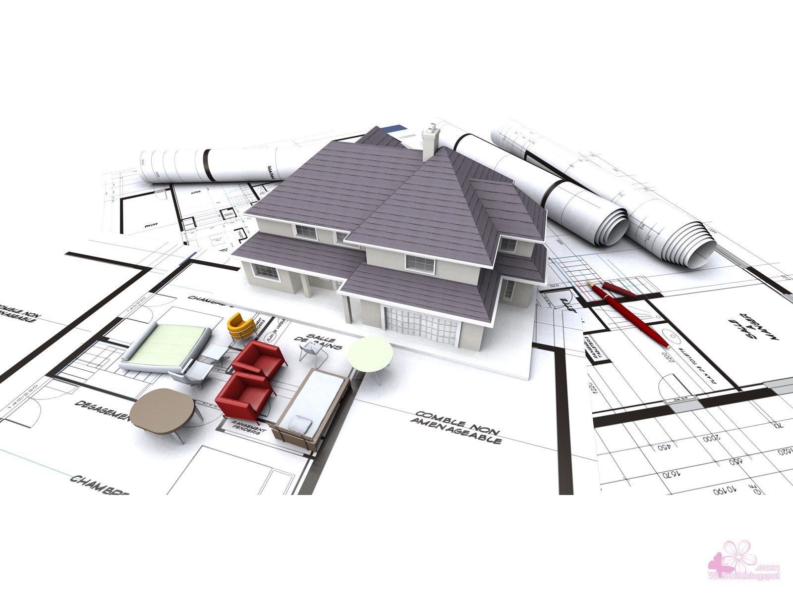 41 best 3d architectural design wallpapers gallery01 for Architecture design tools free
