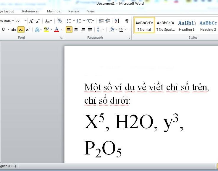 Cách gõ dấu mũ trong Microsoft Word