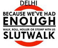 delhi slut walk logo