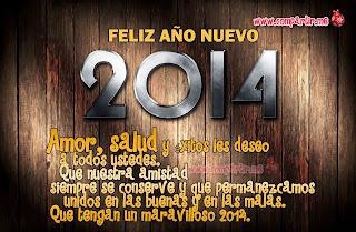 Frases De Año Nuevo: Feliz Año Nuevo 2014 Amor Salud