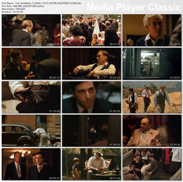 The Godfather 1972 Full English Movie BrRip Dual Audio Hindi English
