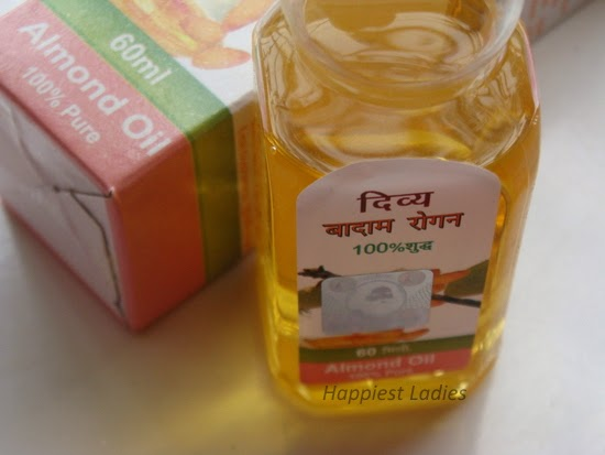 Pure Almond Oil Patanjali