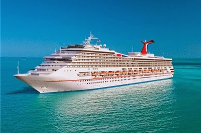 Carnival Triumph en Martinique