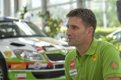 Bogdan Marisca si Skoda Fabia S2000