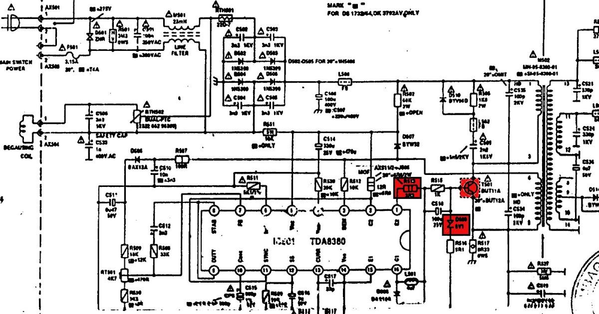 tip  u0026 triks elektronik  kerusakan regulator polytron