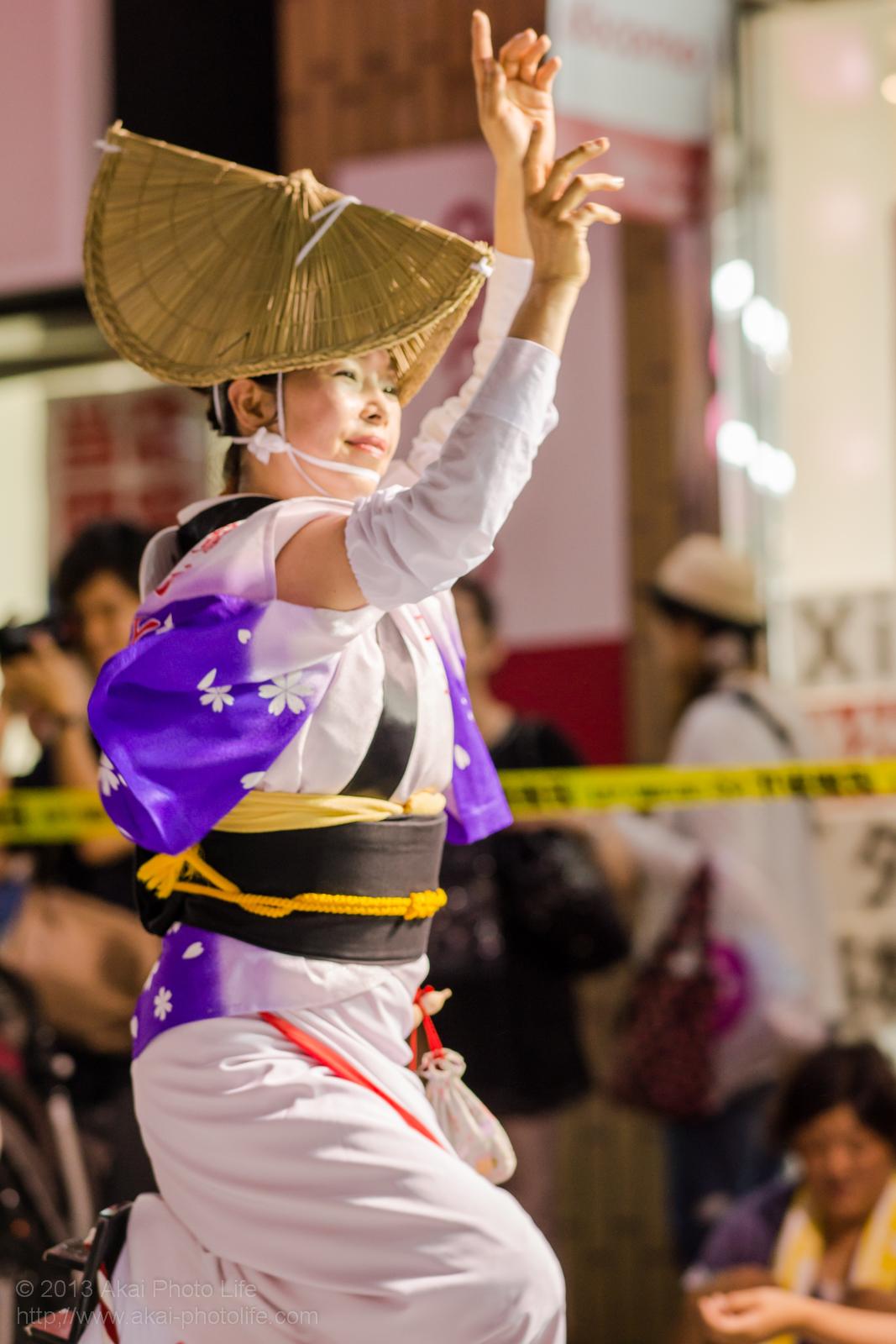 三鷹阿波踊り、三鷹商工連の女踊り