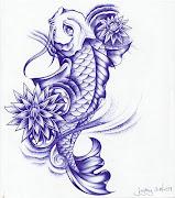 Tatuaes de Pez Koi COMPLETISIMO