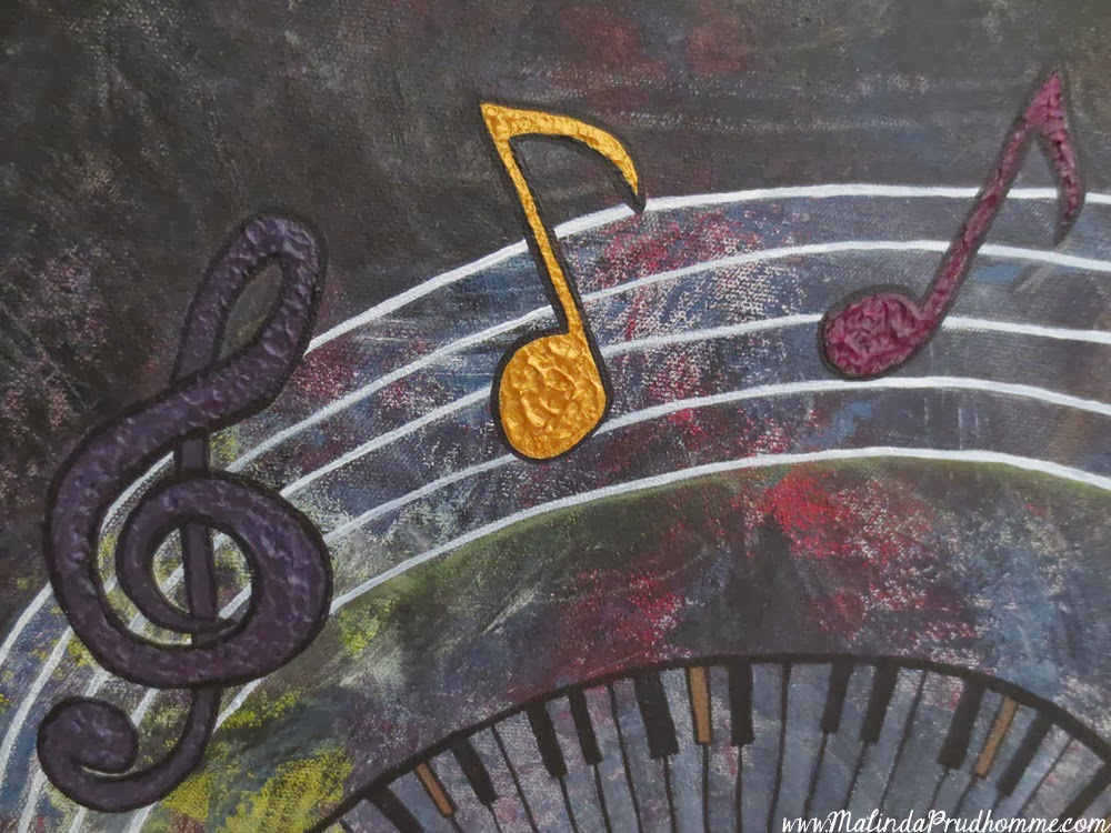 custom artwork, abstract artwork, custom painting, abstract painting, acrylic painting, acrylic painting, Malinda prudhomme, toronto artist, texture, music art, piano art, music notes art, abstract