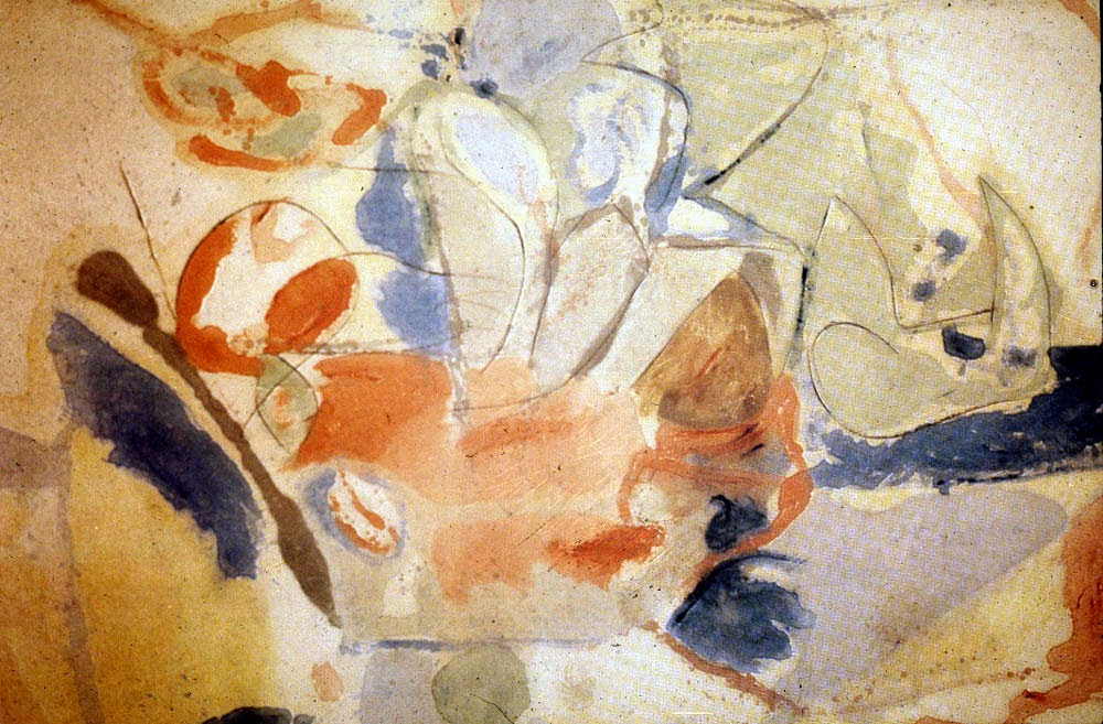 Helen Frankenthaler 'Mountain and Sea', 1952