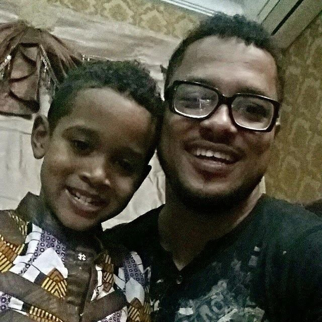 Check Out Van Vicker and His Handsome Son